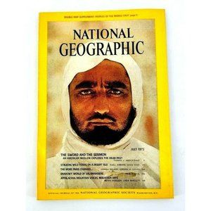 Vintage National Geographic July 1972